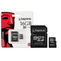 Карта памяти Kingston micro-SDHC (class 4) 16GB