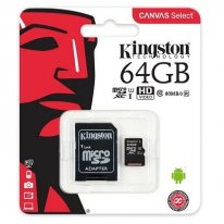Карта памяти Kingston micro-sd (UHS-1) 64GB
